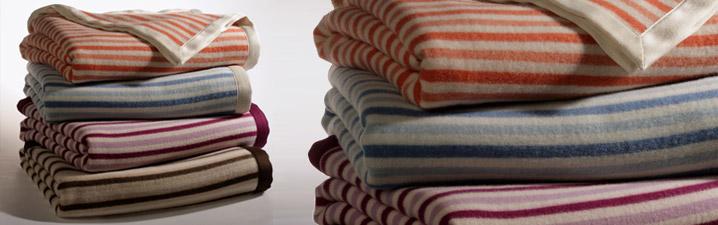 buy online dae73 383cf Coperta in misto cashmere e lana merinos made in Italy